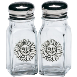 Sunface Salt and Pepper Shaker Set