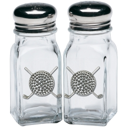 Golf Ball Salt and Pepper Shaker Set