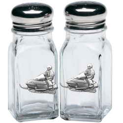 Snowmobile Salt and Pepper Shaker Set