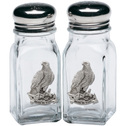 "Bald Eagle ""United We Stand"" Salt and Pepper Shaker Set"