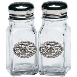 Motorcycle Salt and Pepper Shaker Set