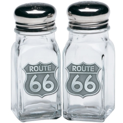 Route 66 Salt and Pepper Shaker Set