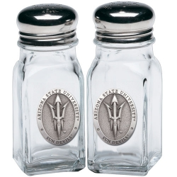 "ASU ""Pitchfork"" Salt & Pepper Shaker Set"