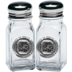 "University of South Carolina ""Gamecocks"" Salt and Pepper Shaker Set"