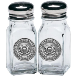 Coast Guard Salt and Pepper Shaker Set
