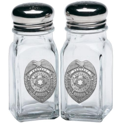 Law Enforcement Salt and Pepper Shaker Set