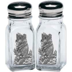 Black Bear Salt and Pepper Shaker Set