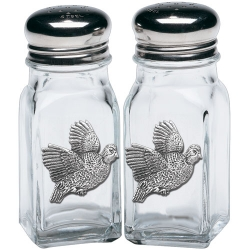 Bobwhite Quail Salt and Pepper Shaker Set