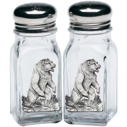 Grizzly Bear Salt and Pepper Shaker Set