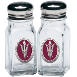 "ASU ""Pitchfork"" Salt & Pepper Shaker Set - Enameled"