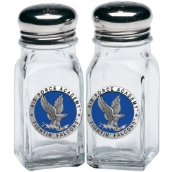 Air Force Academy Salt and Pepper Shaker Set - Enameled