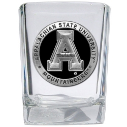 Appalachian State University Square Shot Glass - Enameled