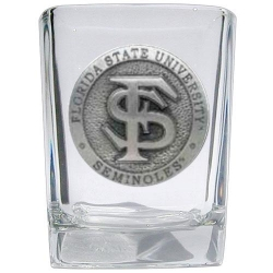 Florida State University Square Shot Glass