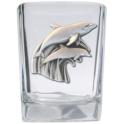 Dolphin Square Shot Glass
