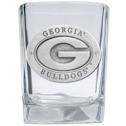 "University of Georgia ""G"" Square Shot Glass"