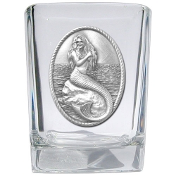 Mermaid Square Shot Glass