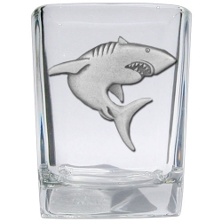 Shark Square Shot Glass