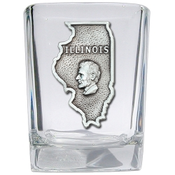 Illinois Square Shot Glass