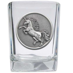 Unicorn Square Shot Glass