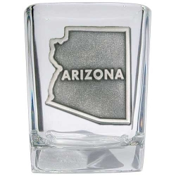 Arizona Square Shot Glass