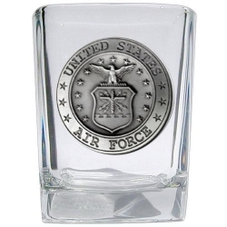 Air Force Square Shot Glass