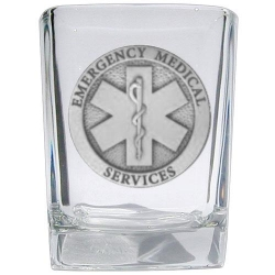 EMS Square Shot Glass