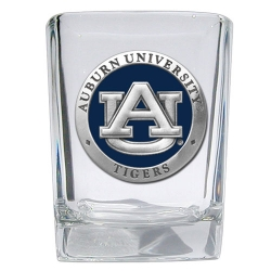 Auburn University Square Shot Glass - Enameled