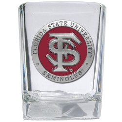 Florida State University Square Shot Glass - Enameled