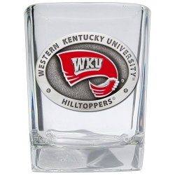 Western Kentucky University Shot Glass - Enameled