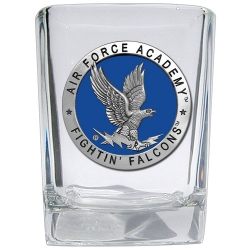 Air Force Academy Square Shot Glass - Enameled