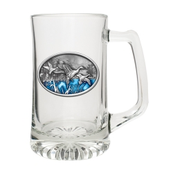 Pintail Duck Super Stein - Enameled