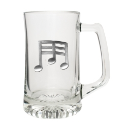 Music Note Super Stein