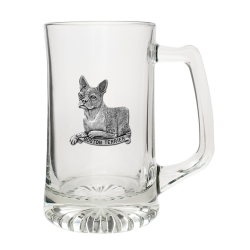 Boston Terrier Super Stein