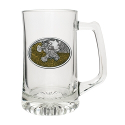 Ruffed Grouse Super Stein - Enameled