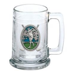 "Golf ""Driver"" Stein - Enameled"