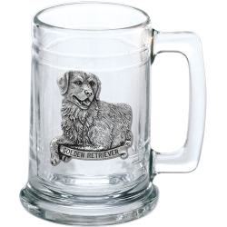 Golden Retriever Stein