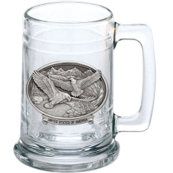 "Bald Eagle ""United States of America"" Stein"