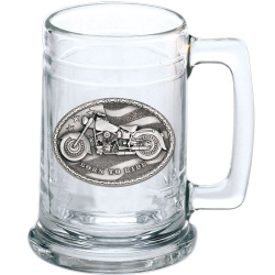 Motorcycle Stein