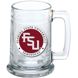 "Florida State University ""FSU"" Stein - Enameled"