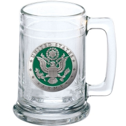 Army Stein - Enameled