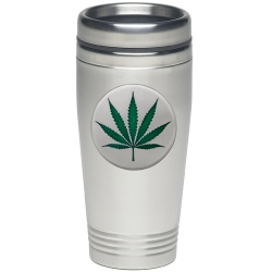 Marijuana Thermal Drink - Enameled