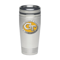 """Georgia Institute of Technology """"GT"""" Thermal Drink - Enameled"""