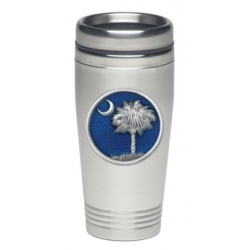 South Carolina Palmetto Thermal Drink - Enameled
