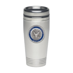 Navy Thermal Drink - Enameled
