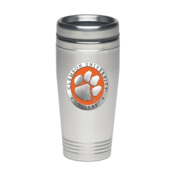 Clemson University Thermal Drink - Enameled