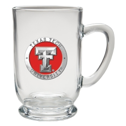 Texas Tech University Clear Coffee Cup - Enameled