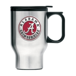 "Alabama ""A"" Crimson Tide Thermal Travel Mug - Enameled"