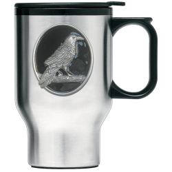 Raven Thermal Travel Mug - Enameled