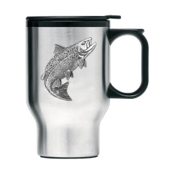 Salmon Thermal Travel Mug