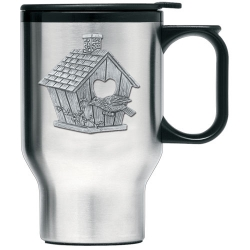 Birdhouse Thermal Travel Mug
